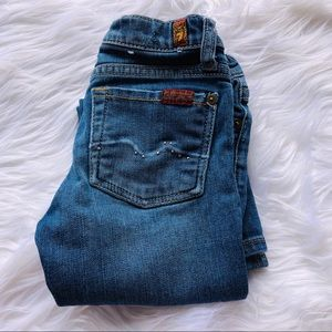 7 for all man kind girls jeans.